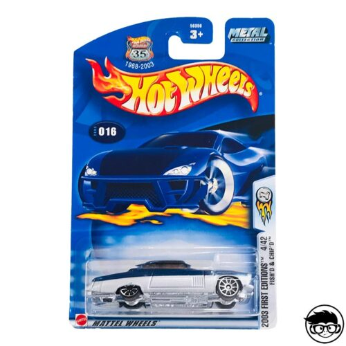 Hot Wheels Fish'd & Chip'd 2003 First Collection Collector nº016 long card