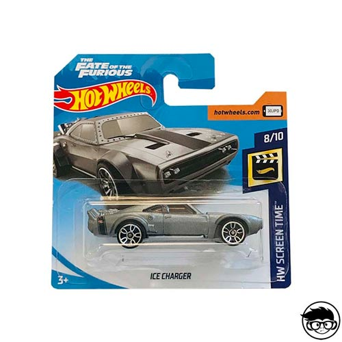 Hot Wheels Fast & Furious Ice Charger HW Screen Time 79/365 short card 2018