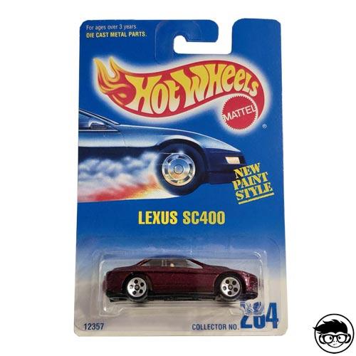 Hot Wheels Lexus SC400 Collector nº264 1992