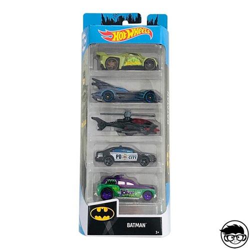 Hot Wheels 5-Pack Batman 2019