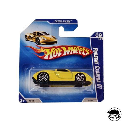 Hot Wheels Porsche Carrera GT Dream Garage 155/166 2009 short card