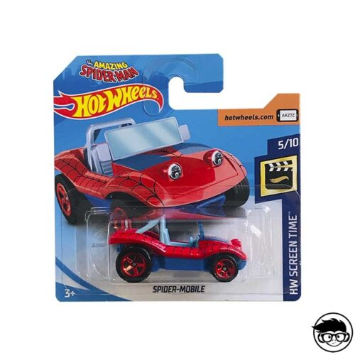 Hot Wheels Spider Mobile HW Screen Time 146/365 2019 short card