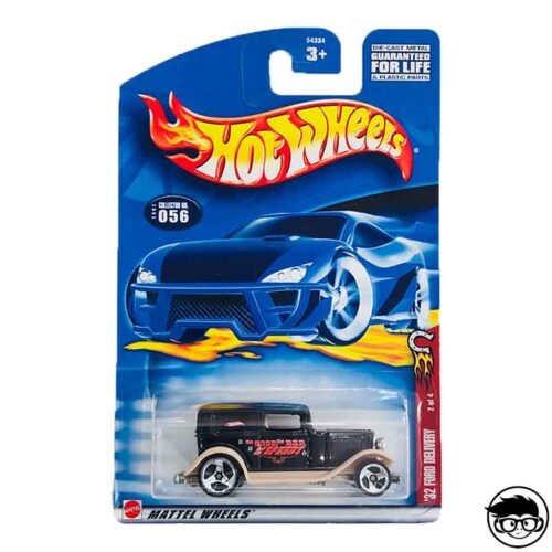Hot Wheels '32 Ford Delivery Collector No. 056 2001 long card