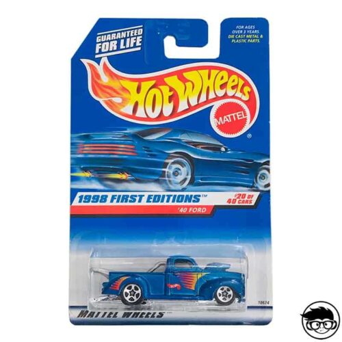 Hot Wheels '40 Ford 1998 First Editions long card*