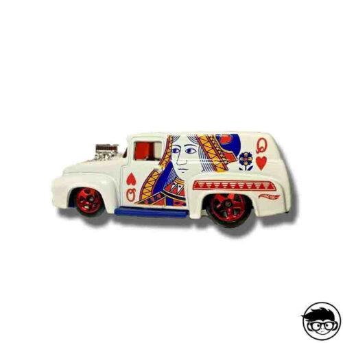 Hot Wheels '56 Ford HW Art Cars Poker Inspired 187/250 2019 short card