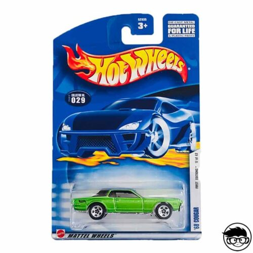 Hot Wheels '68 Cougar First Editions 029 2002 long card*