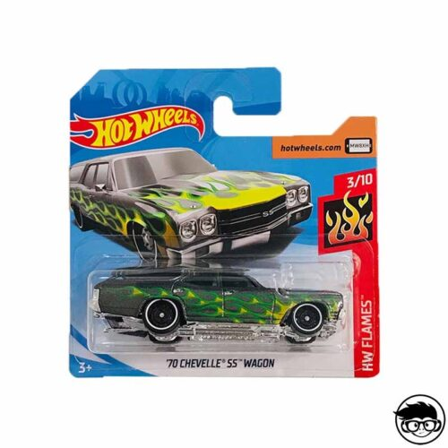 Hot Wheels '70 Chevelle SS Wagon HW Flames 56/250 2019 short card