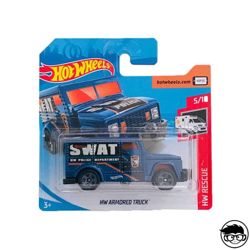 2019 Hot Wheels HW RESCUE 5//10 Seceret Treasure Hunt HW Armored Truck 182//250