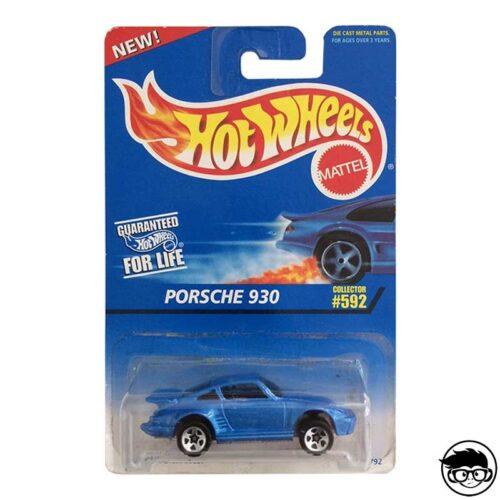 Hot Wheels Porsche 930 Collector 592 1996 long card
