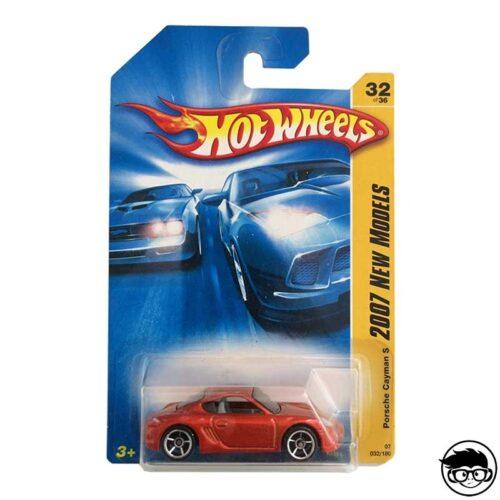 Hot Wheels Porsche Cayman S 2007 New Models 32/180 long card