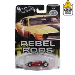 Hot-Wheels-'69-Brawner-Hawk-3/4-Rebel-Rods-Limited-Edition-1/20.000-2004