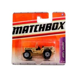 Matchbox-Jeep-Willys-61/75-2010