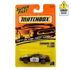 Matchbox-Camaro-Z28-Police-58-Super-Fast-1996