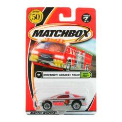 Matchbox-Chevrolet-Camaro-Police-7/75-Safety-Stars-2002