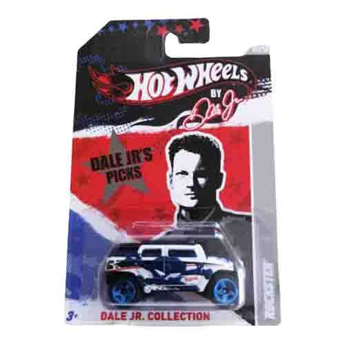 Hot Wheels Rockster Dale Jr. Collection 7/12 2012 long card