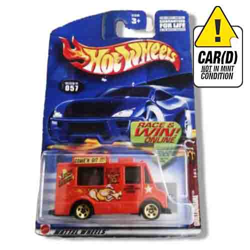 Hot Wheels Grillionaire Collector Nº57 2002 long card*