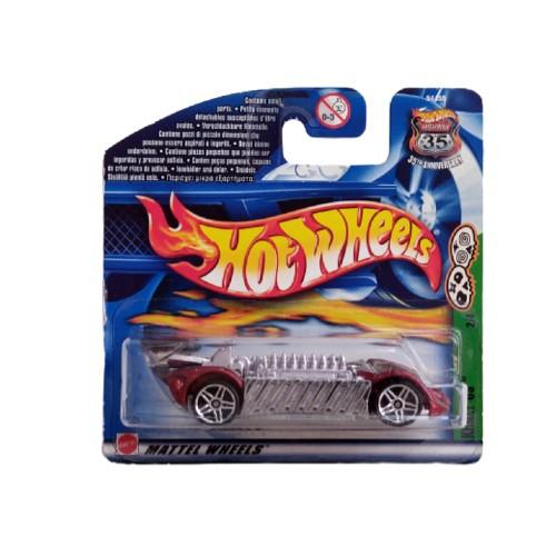 Hot Wheels Krazy 8s 2/4 Grave Rave short card 2001