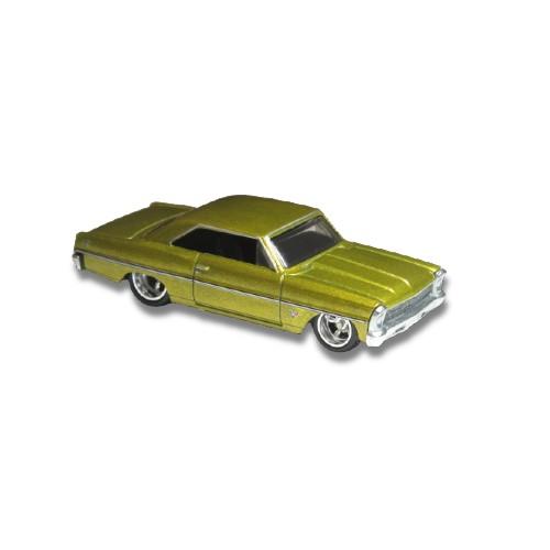 Hot Wheels '66 Chevy Nova Fast & Furious MCM 4/5 2020 long card