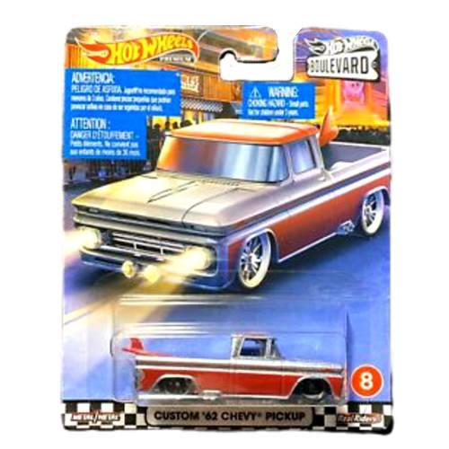 Hot Wheels Chevy Custom'62 Boulevard Premium 8/20 2020 long card