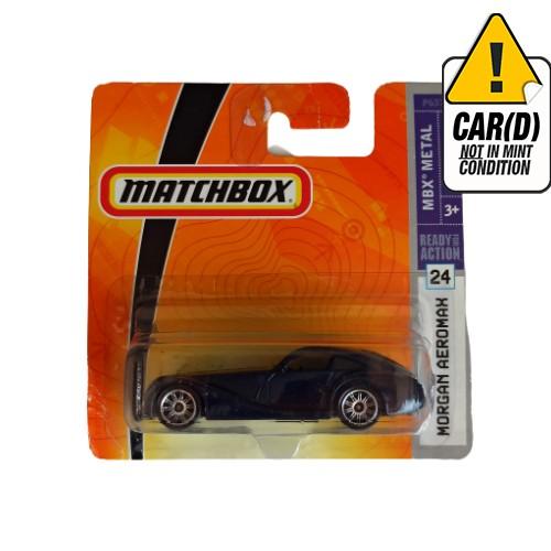 Matchbox Morgan Aeromax mbx metal 24 2008 short card*