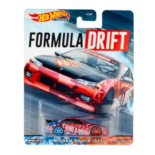 Hot Wheels Nissan Silvia s15 formula drift 2020 long card
