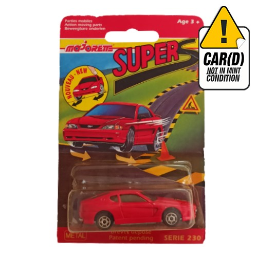 Majorette Ferrari 456GT Super S 1995 long card
