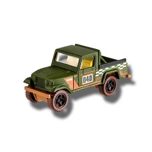 Hot Wheels Off Road Truck Series Jeep Scrambler 3/6 2019 Long card