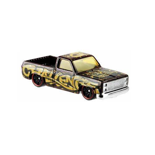 Hot Wheels '83 Chevy Silverado 6/10 HW art cars 247/250 short card