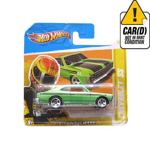 Hot Wheels Chevrolet SS 2012 HW premiere 20/50 Short Card*
