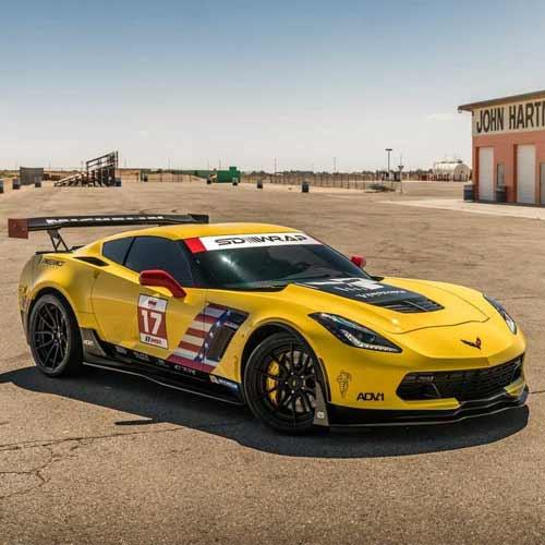 Hot Wheels Corvette C7.R HW Speed Graphics 27/365 2018 Short card