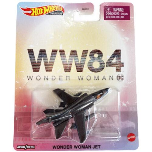 Hot Wheels Wonder Woman Jet Premium Products 2020 Long Card
