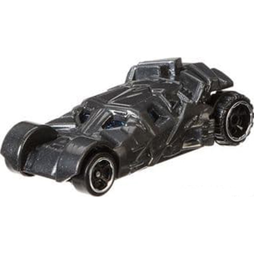 Hot Wheels Batman Begins Batmobile 2006 Long Card
